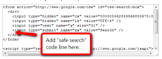 google_safe_search